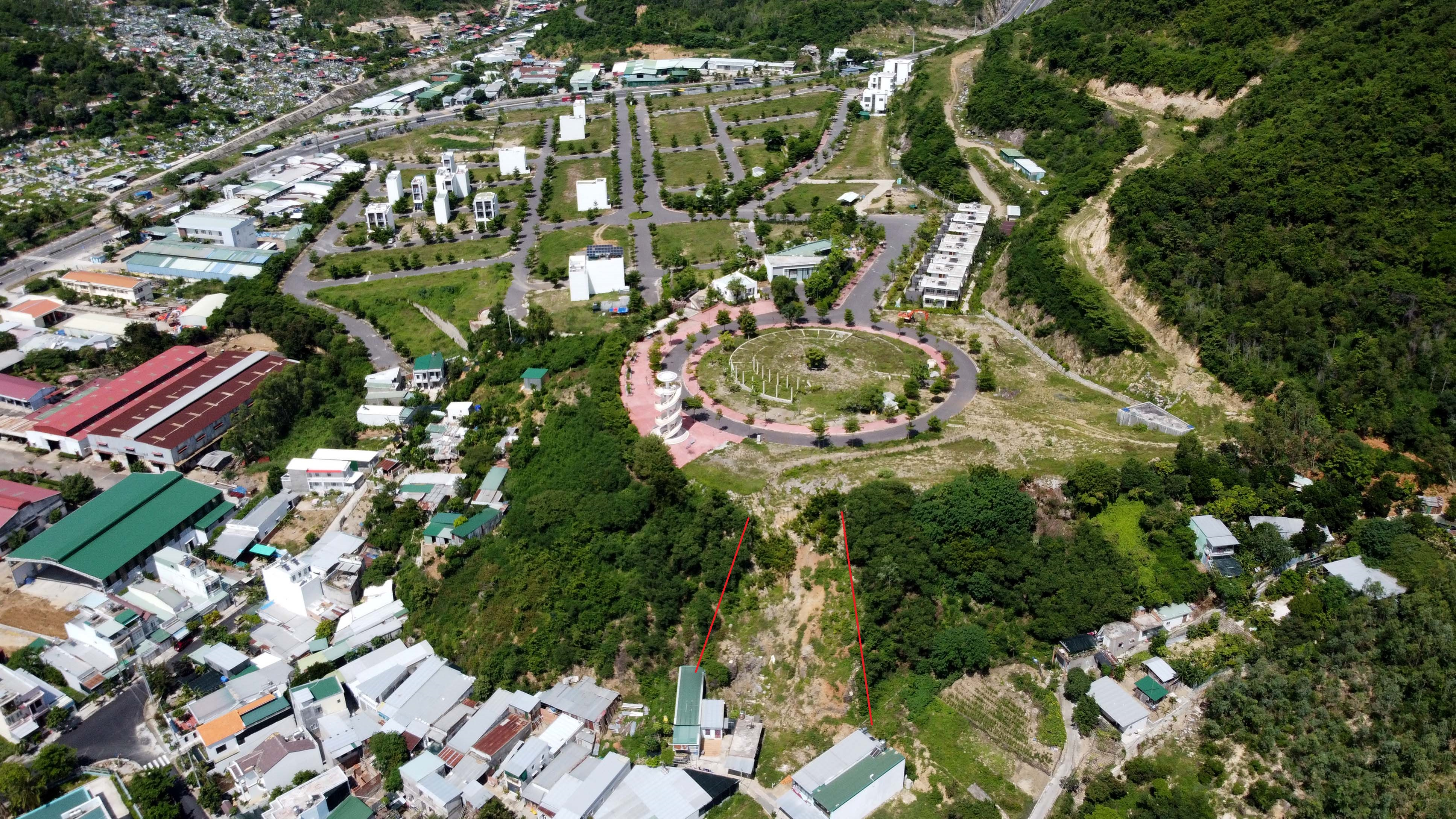 Nha Trang loạt dự án xẻ núi làm biệt thự, khu dân cư - Ảnh 2.