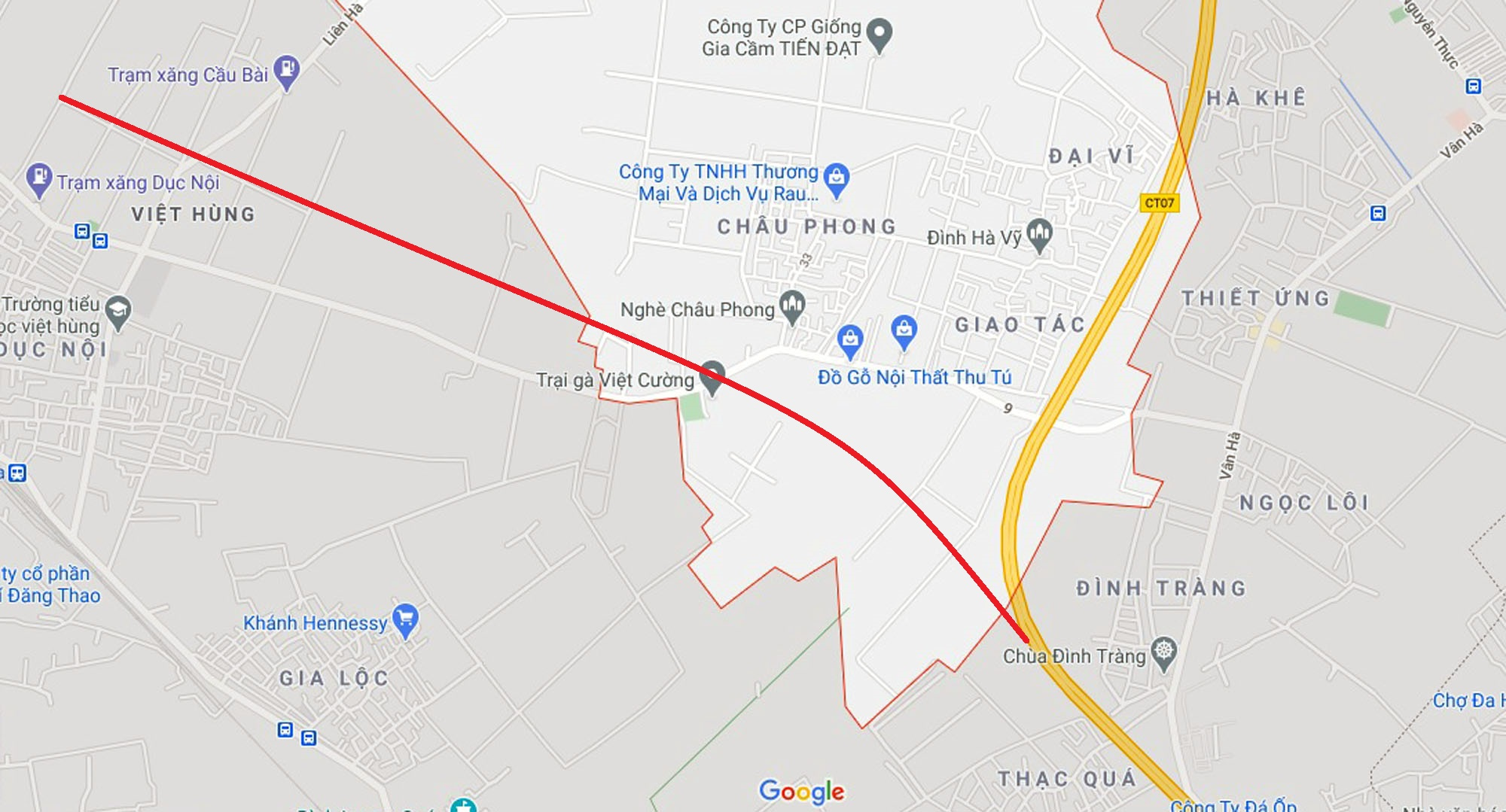 đường sẽ mở theo qui hoạch ở xã Liên Hà, Đông Anh, Hà Nội - Ảnh 2.