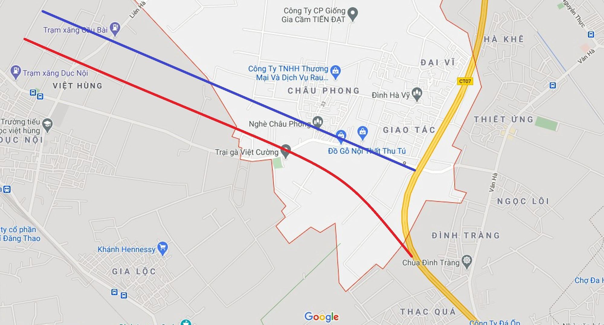 đường sẽ mở theo qui hoạch ở xã Liên Hà, Đông Anh, Hà Nội - Ảnh 5.