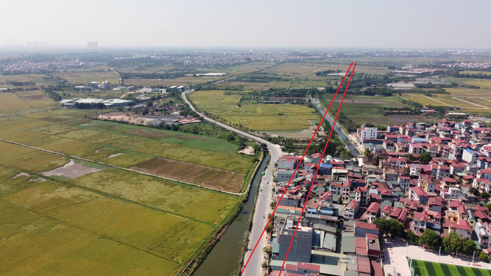 đường sẽ mở theo qui hoạch ở xã Liên Hà, Đông Anh, Hà Nội - Ảnh 7.