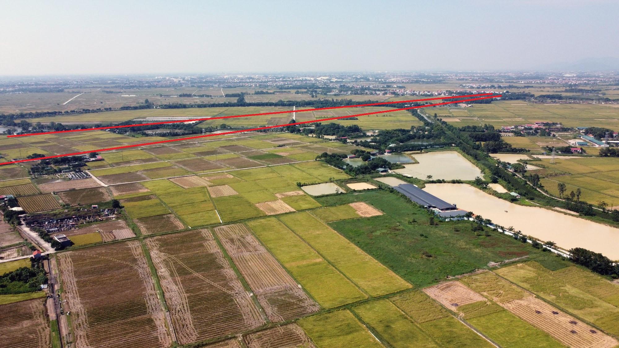 đường sẽ mở theo qui hoạch ở xã Liên Hà, Đông Anh, Hà Nội - Ảnh 11.