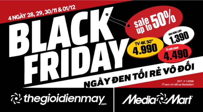 Black Friday ngày hội giảm giá các sản phẩm công nghệ - Ảnh 1.