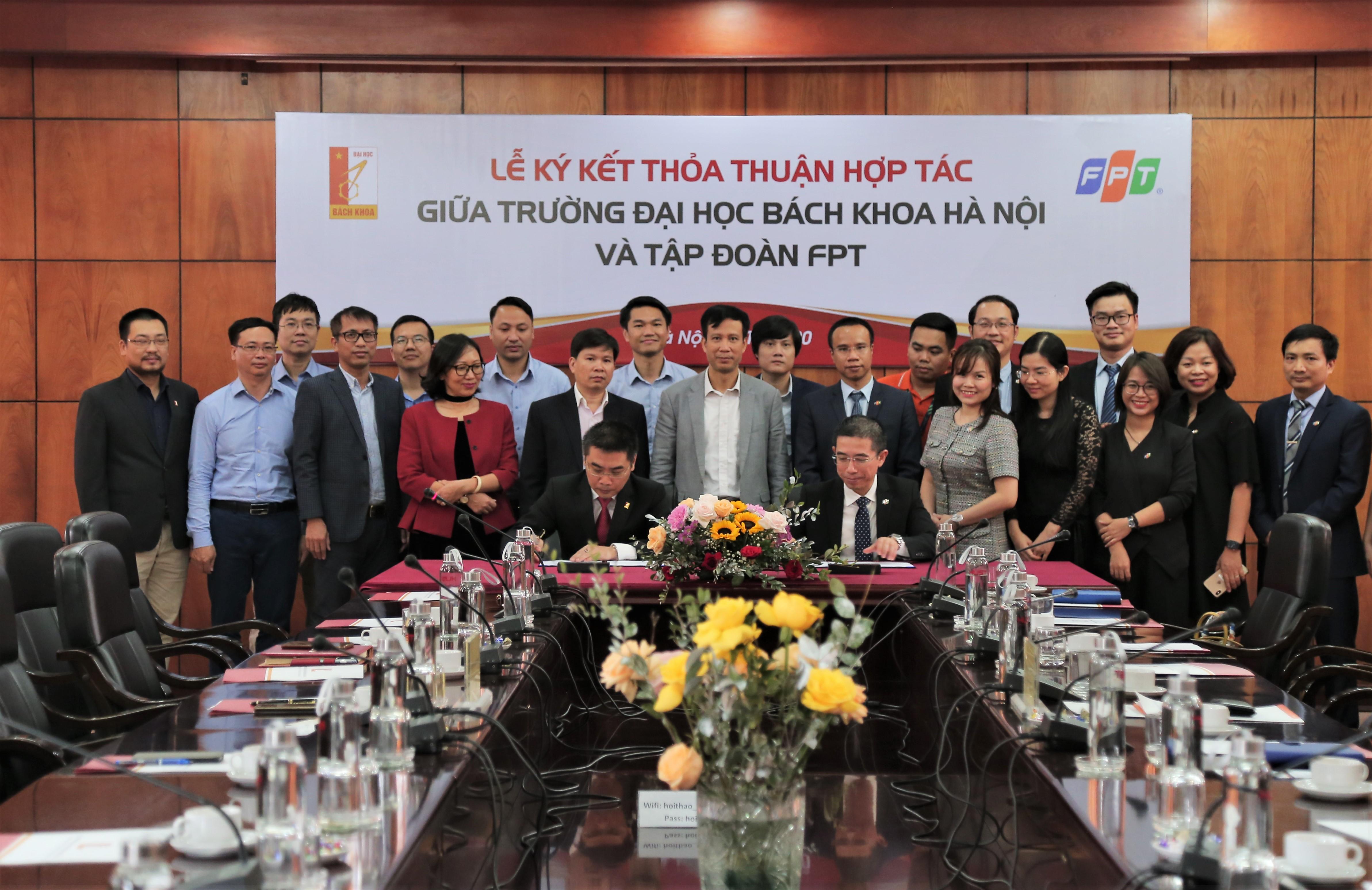 FPT hợp tác Đại học Bách khoa Hà Nội đào tạo và nghiên cứu công nghệ 4.0 - Ảnh 1.