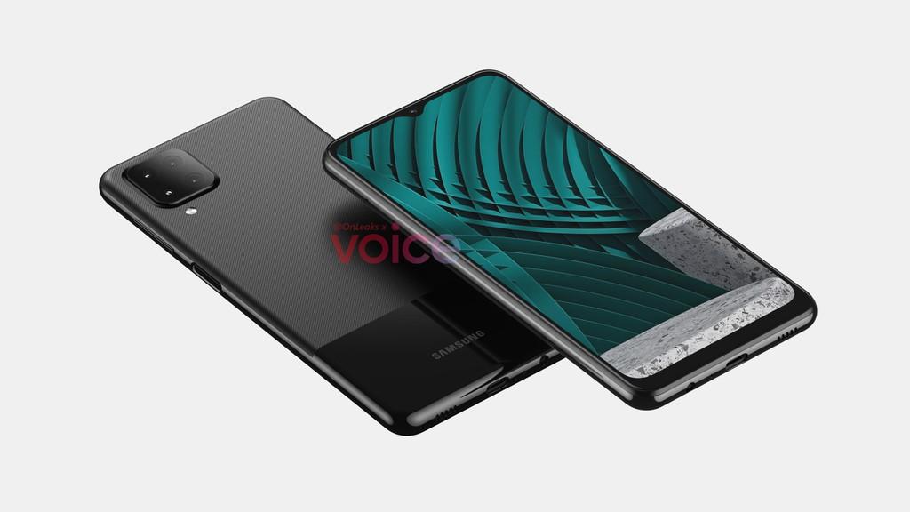 Samsung Galaxy M12: Màn hình giọt nước 6.5 inch, 4 camera hình vuông mặt sau - Ảnh 2.