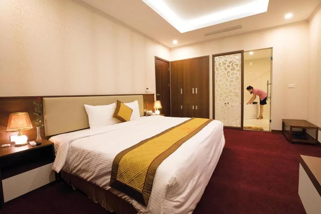 Khám phá top 5 khách sạn hạng sang được đông đảo du khách yêu thích tại Hòa Bình  - Ảnh 1.