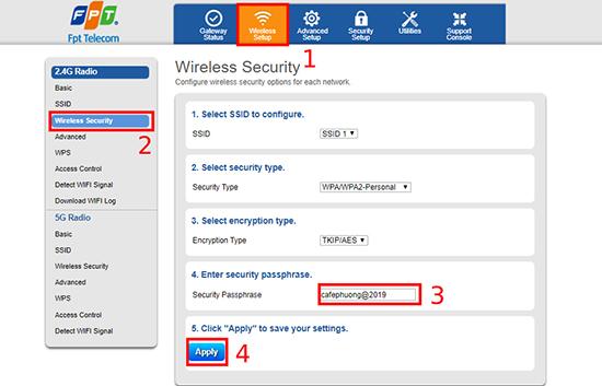 Chi tiết cách đổi mật khẩu wifi của các nhà mạng FPT, VNPT và Viettel hiện nay - Ảnh 3.