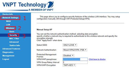 Chi tiết cách đổi mật khẩu wifi của các nhà mạng FPT, VNPT và Viettel hiện nay - Ảnh 7.