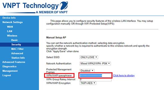 Chi tiết cách đổi mật khẩu wifi của các nhà mạng FPT, VNPT và Viettel hiện nay - Ảnh 8.