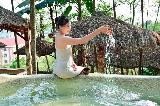 Suối khoáng Mỹ Lâm, địa điểm nghỉ dưỡng, thư giãn số một tại Tuyên Quang  - Ảnh 2.
