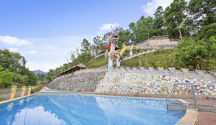 Suối khoáng Mỹ Lâm, địa điểm nghỉ dưỡng, thư giãn số một tại Tuyên Quang  - Ảnh 1.