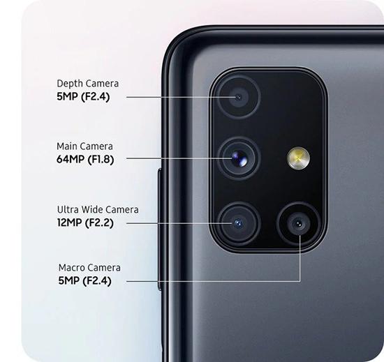 Samsung Galaxy M51 lượng pin khủng 7000mAh, Snapdragon 730G ra mắt tại Việt Nam - Ảnh 2.