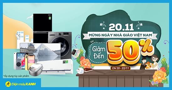 Hot sale ngày 20/11 giảm giá cực sốc chào mừng ngày Nhà giáo Việt Nam - Ảnh 2.