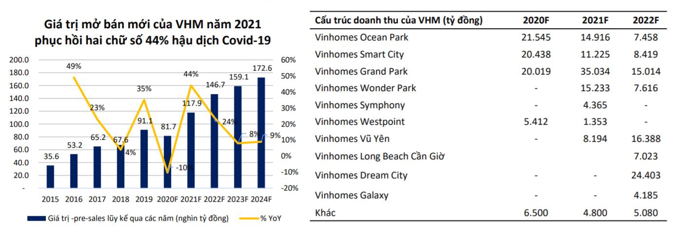 BSC: Doanh thu từ các đô thị của Vinhomes đạt trên 95.000 tỉ đồng trong năm 2021 - Ảnh 2.