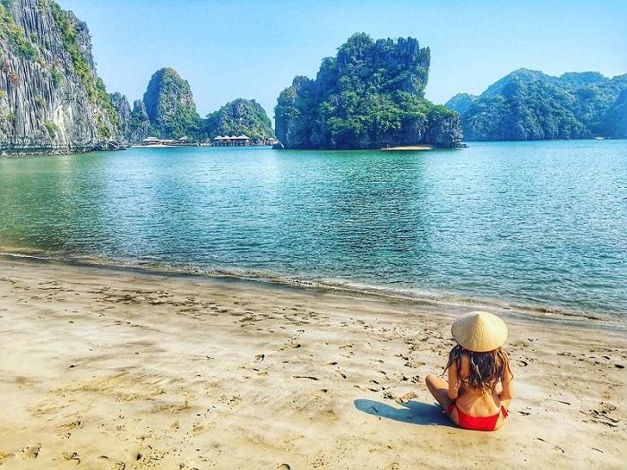Chiêm ngưỡng cảnh sắc thiên nhiên kì vĩ tại vịnh Lan Hạ, Hải Phòng - Ảnh 7.