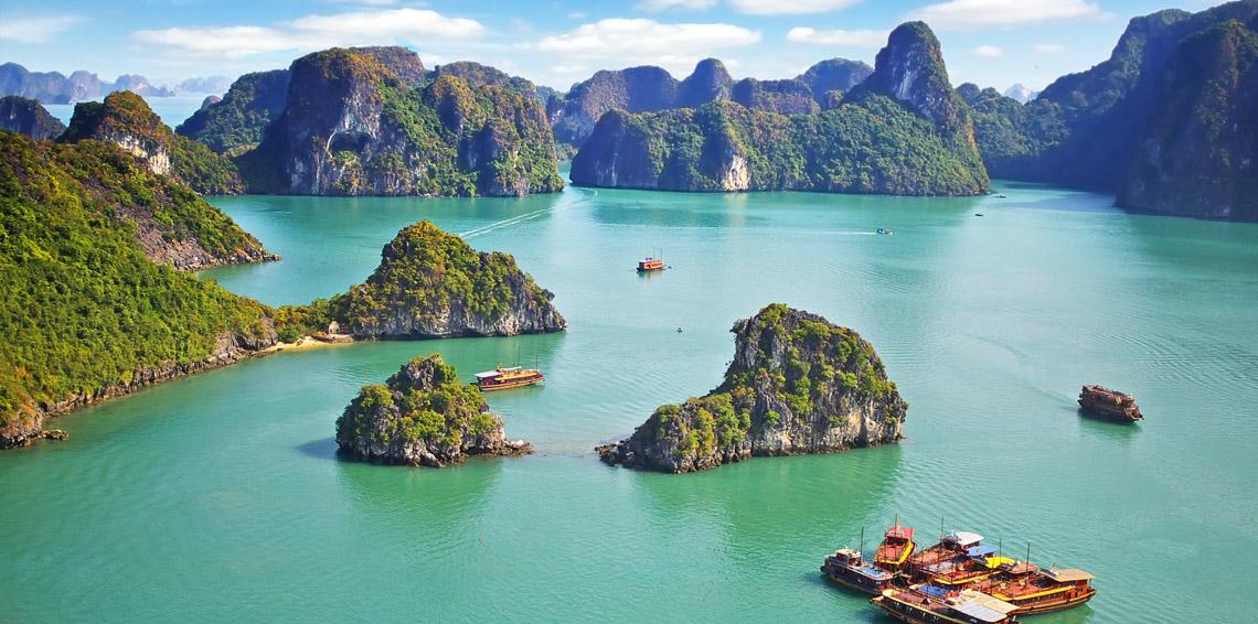 Chiêm ngưỡng cảnh sắc thiên nhiên kì vĩ tại vịnh Lan Hạ, Hải Phòng - Ảnh 2.