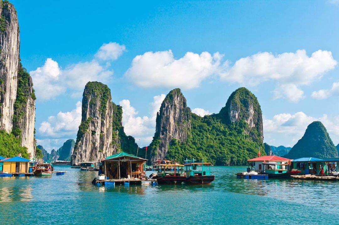 Chiêm ngưỡng cảnh sắc thiên nhiên kì vĩ tại vịnh Lan Hạ, Hải Phòng - Ảnh 3.