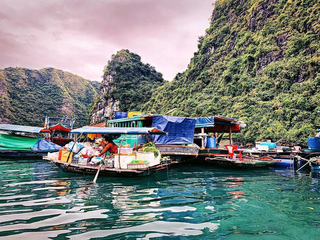 Chiêm ngưỡng cảnh sắc thiên nhiên kì vĩ tại vịnh Lan Hạ, Hải Phòng - Ảnh 4.