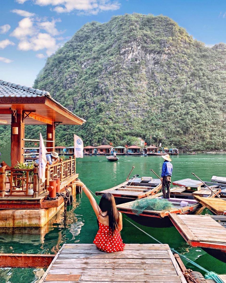 Chiêm ngưỡng cảnh sắc thiên nhiên kì vĩ tại vịnh Lan Hạ, Hải Phòng - Ảnh 5.