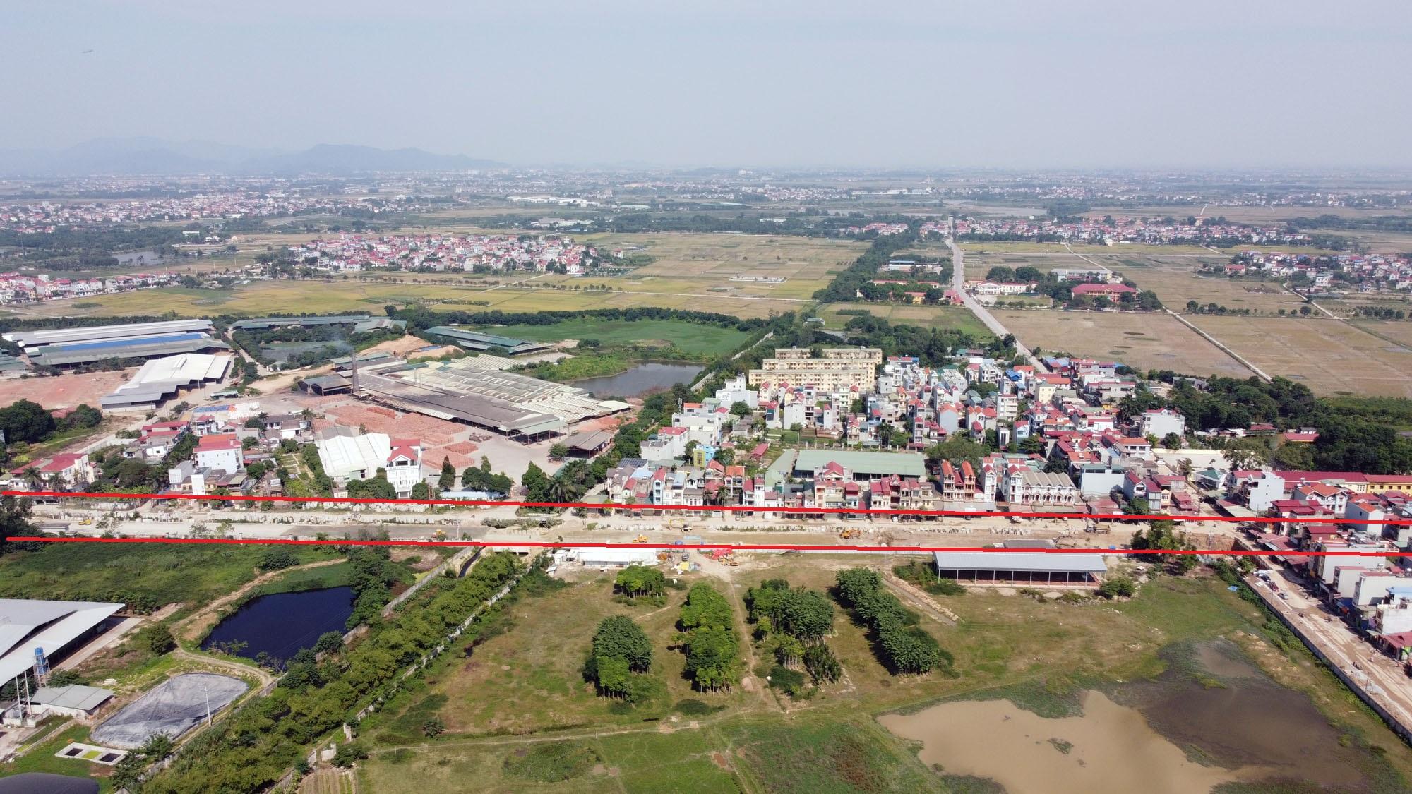 Vị trí ba đường sẽ mở theo qui hoạch ở xã Xuân Nộn, Đông Anh, Hà Nội - Ảnh 4.