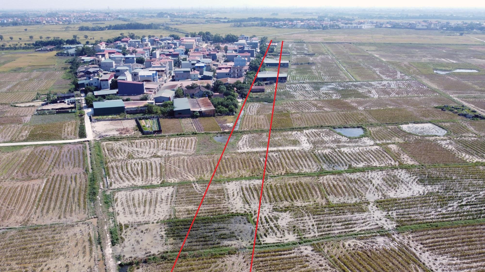 Vị trí ba đường sẽ mở theo qui hoạch ở xã Xuân Nộn, Đông Anh, Hà Nội - Ảnh 5.