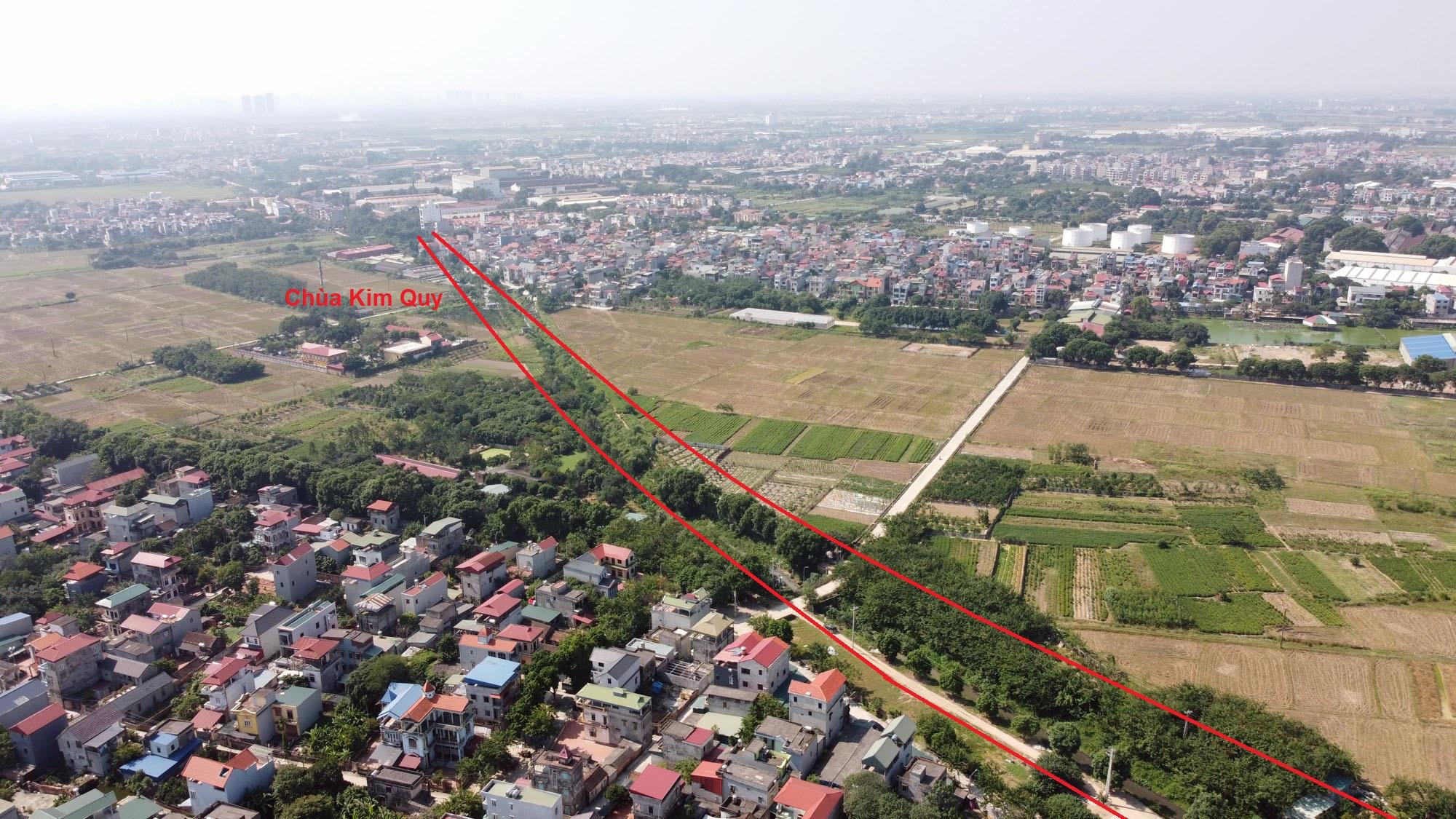 Vị trí ba đường sẽ mở theo qui hoạch ở xã Xuân Nộn, Đông Anh, Hà Nội - Ảnh 7.