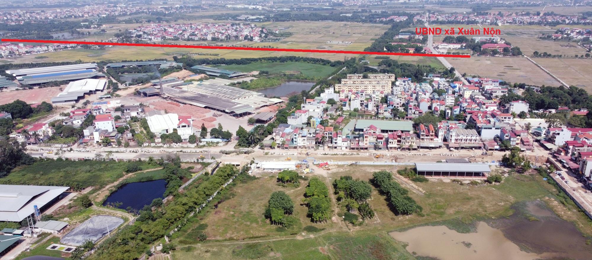 Vị trí ba đường sẽ mở theo qui hoạch ở xã Xuân Nộn, Đông Anh, Hà Nội - Ảnh 10.