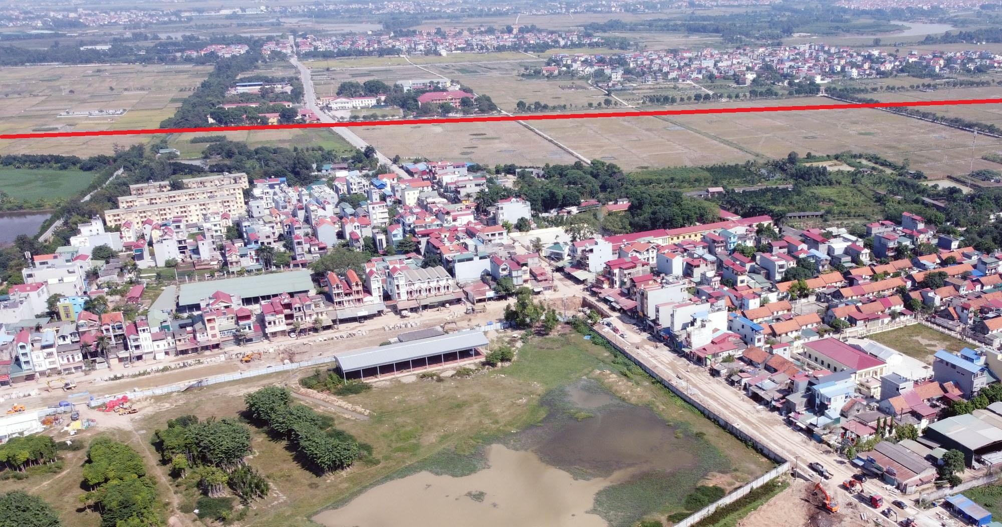 Vị trí ba đường sẽ mở theo qui hoạch ở xã Xuân Nộn, Đông Anh, Hà Nội - Ảnh 11.