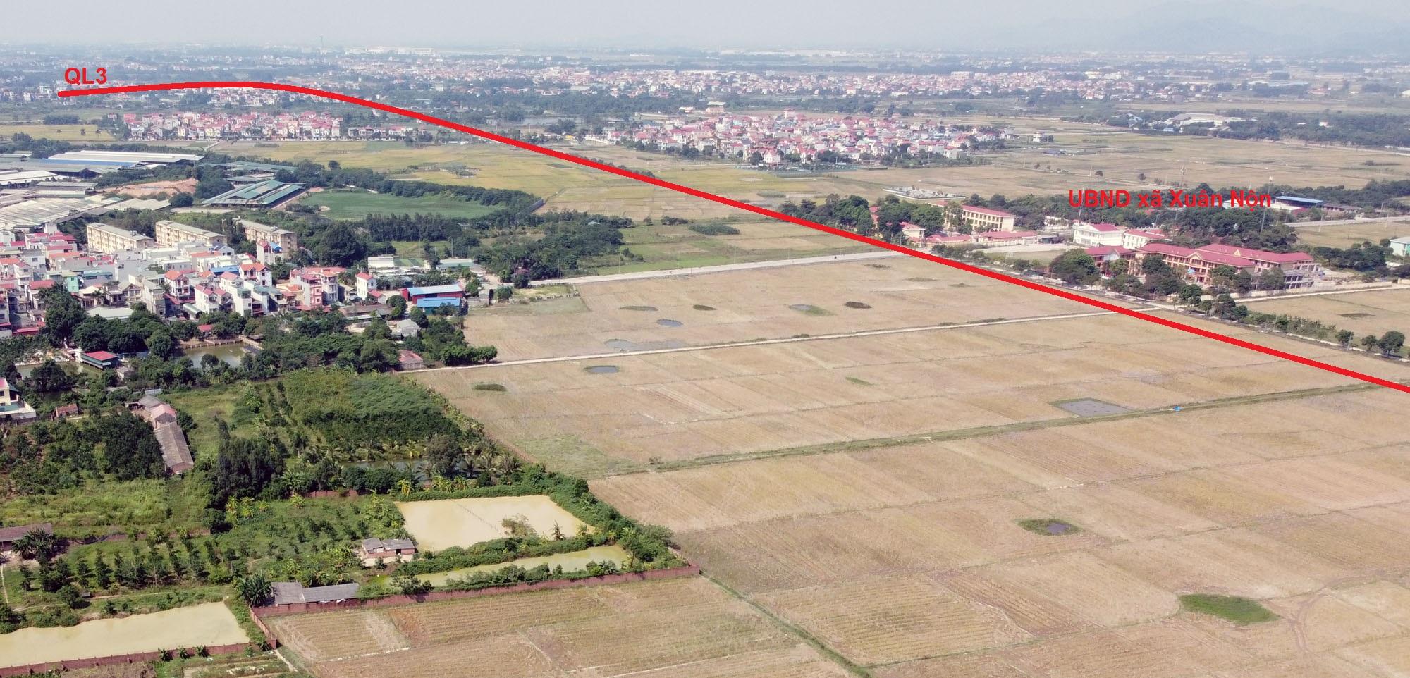 Vị trí ba đường sẽ mở theo qui hoạch ở xã Xuân Nộn, Đông Anh, Hà Nội - Ảnh 12.