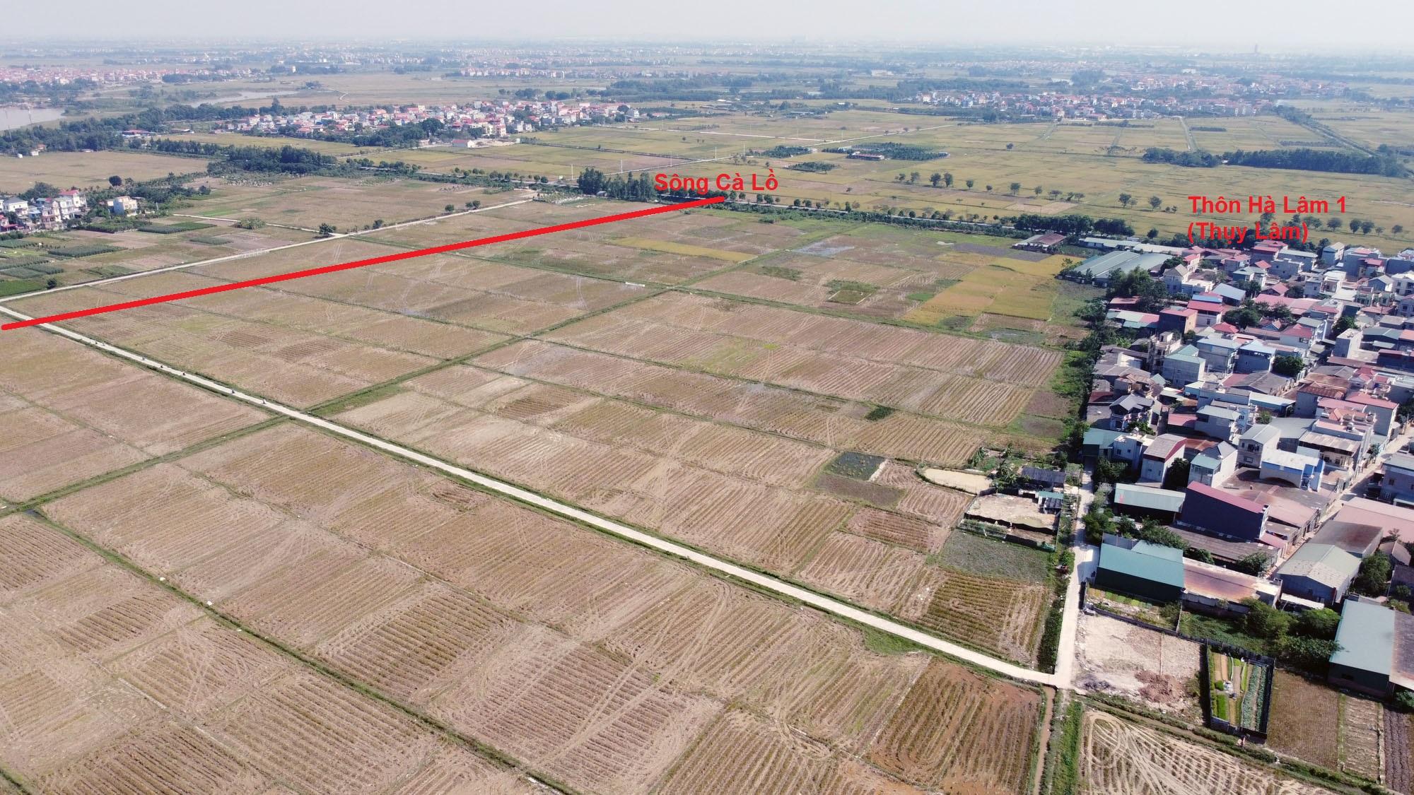 Vị trí ba đường sẽ mở theo qui hoạch ở xã Xuân Nộn, Đông Anh, Hà Nội - Ảnh 13.