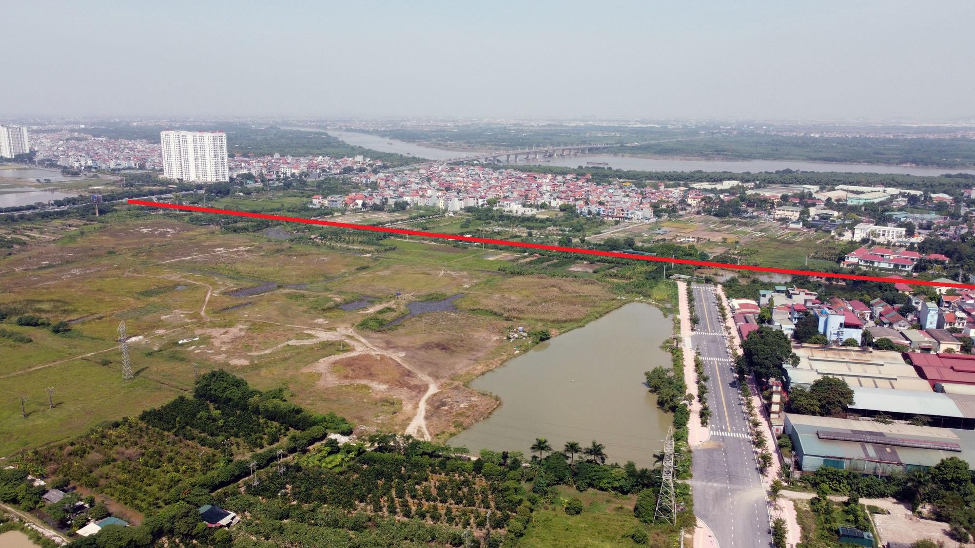 Vị trí ba đường sẽ mở theo qui hoạch ở xã Cổ Bi, Gia Lâm, Hà Nội - Ảnh 3.