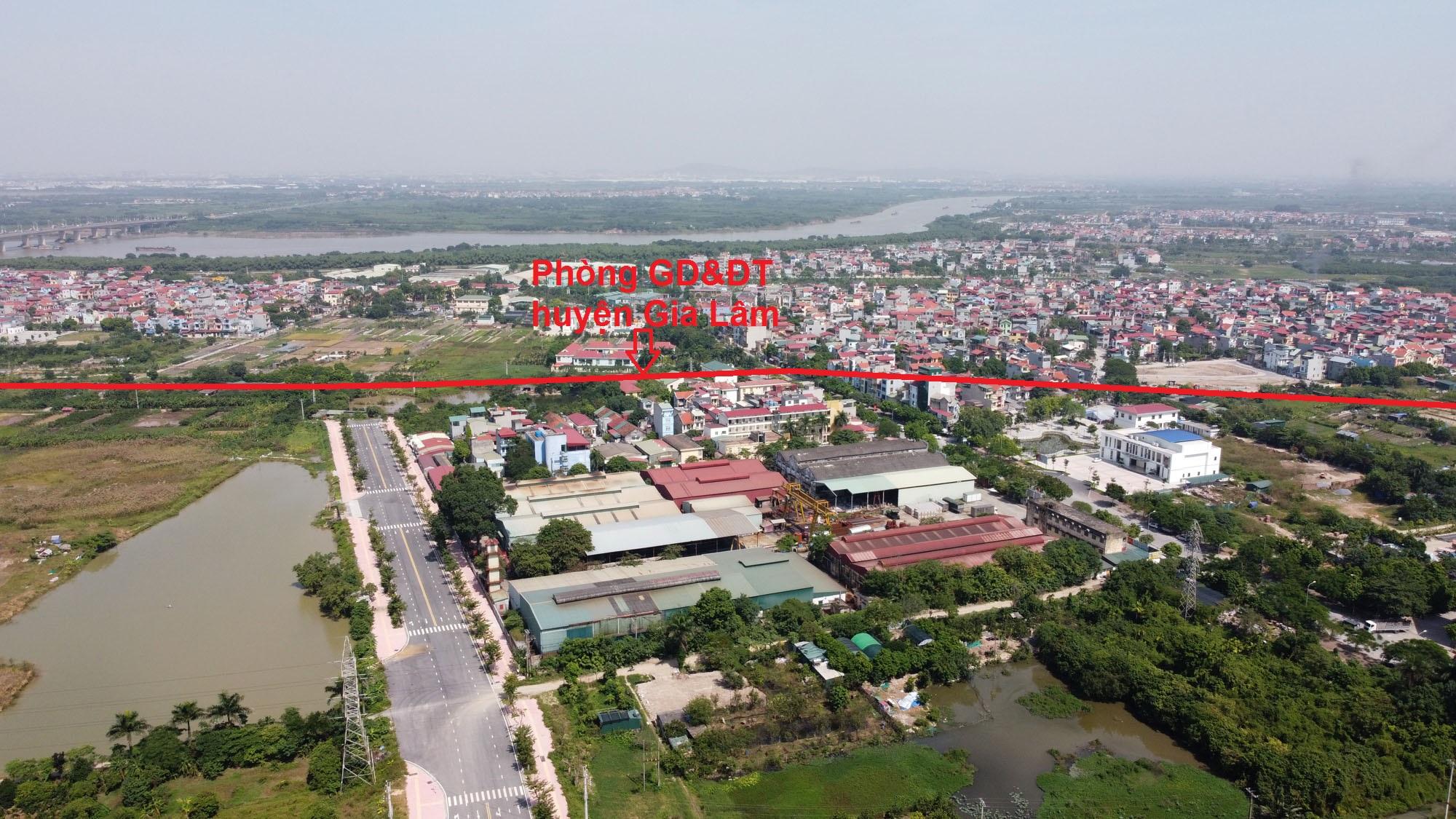 Vị trí ba đường sẽ mở theo qui hoạch ở xã Cổ Bi, Gia Lâm, Hà Nội - Ảnh 4.