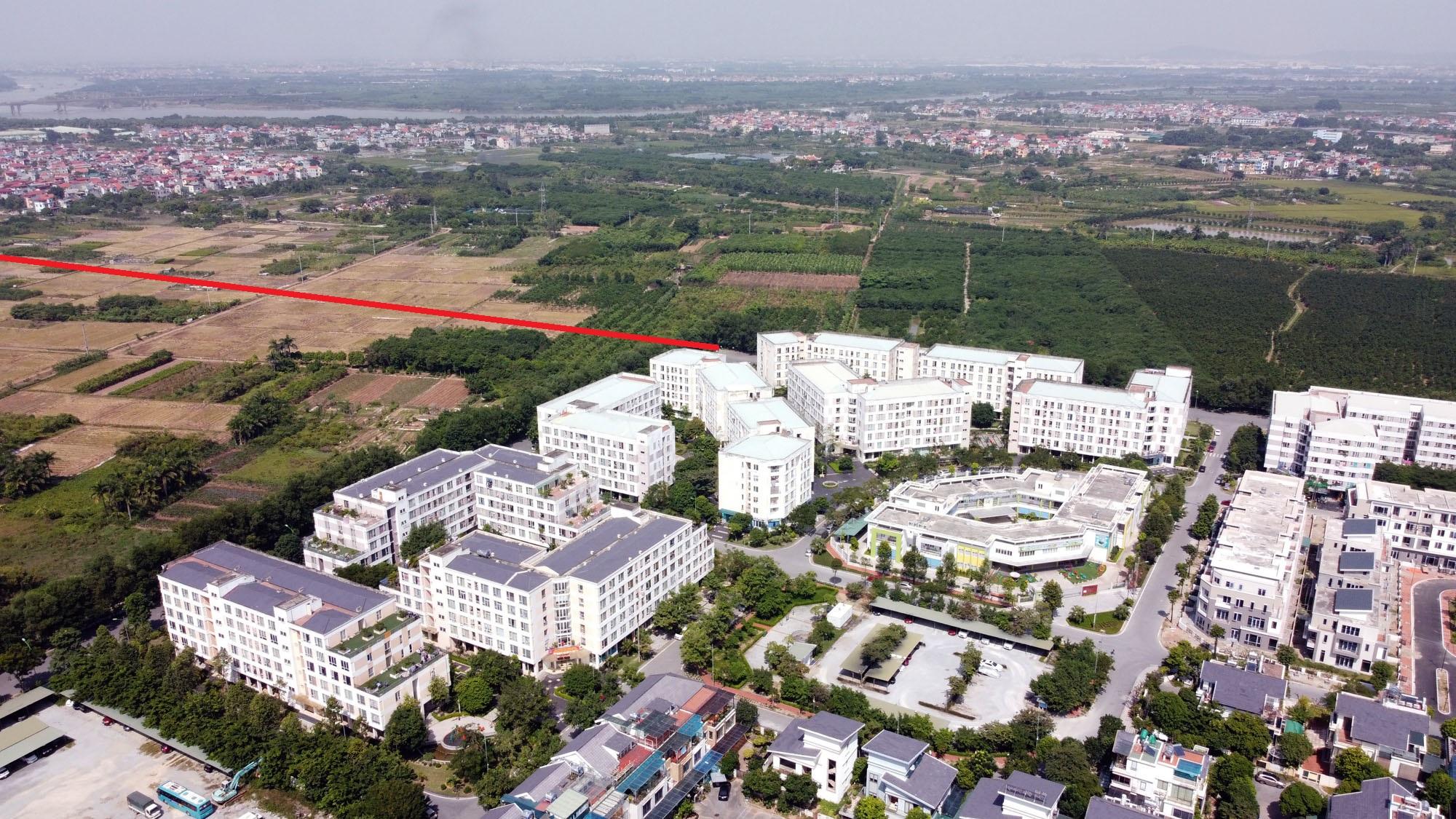 Vị trí ba đường sẽ mở theo qui hoạch ở xã Cổ Bi, Gia Lâm, Hà Nội - Ảnh 6.