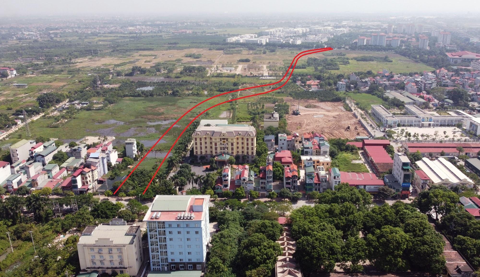 Vị trí ba đường sẽ mở theo qui hoạch ở xã Cổ Bi, Gia Lâm, Hà Nội - Ảnh 8.