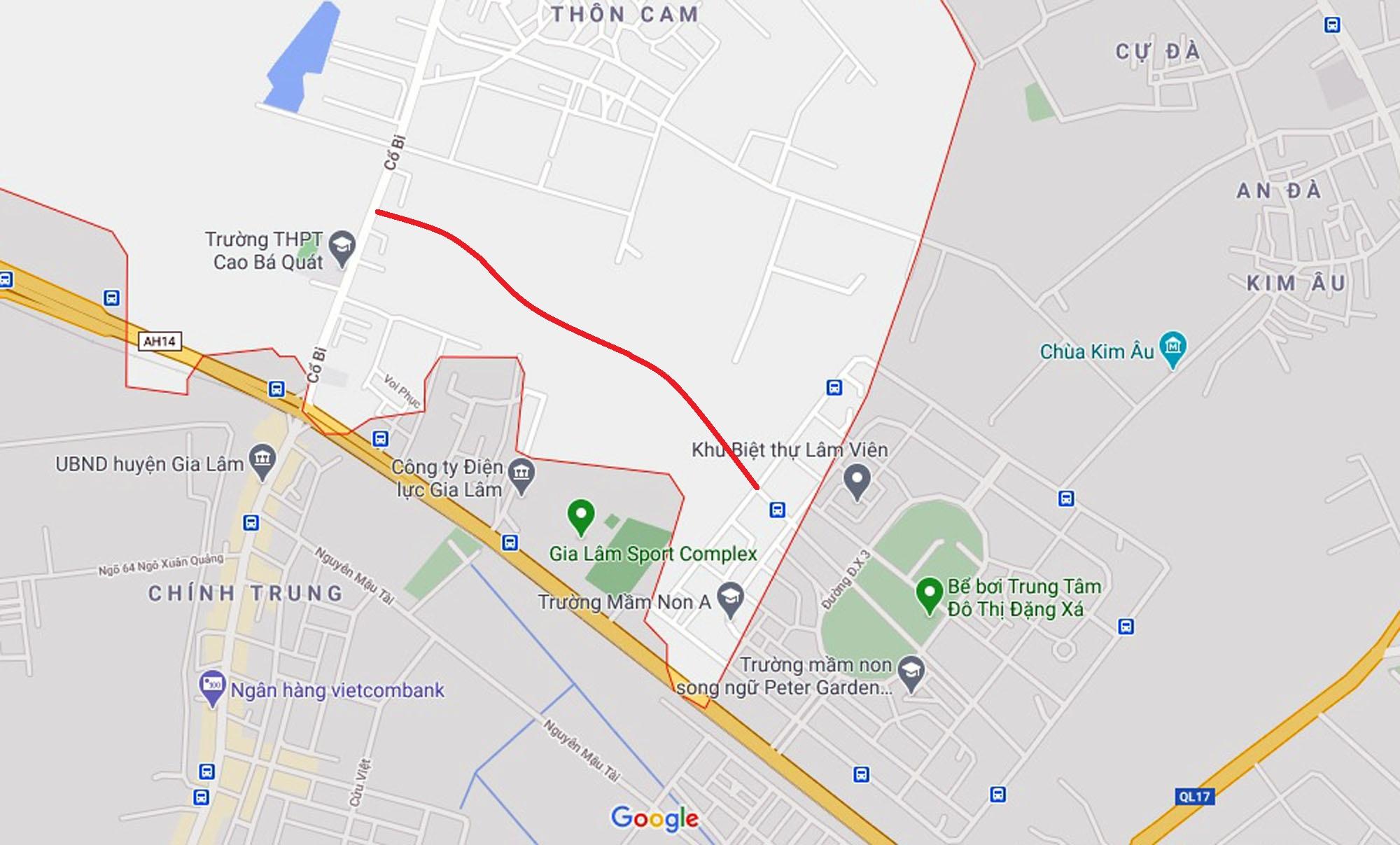 Vị trí ba đường sẽ mở theo qui hoạch ở xã Cổ Bi, Gia Lâm, Hà Nội - Ảnh 7.