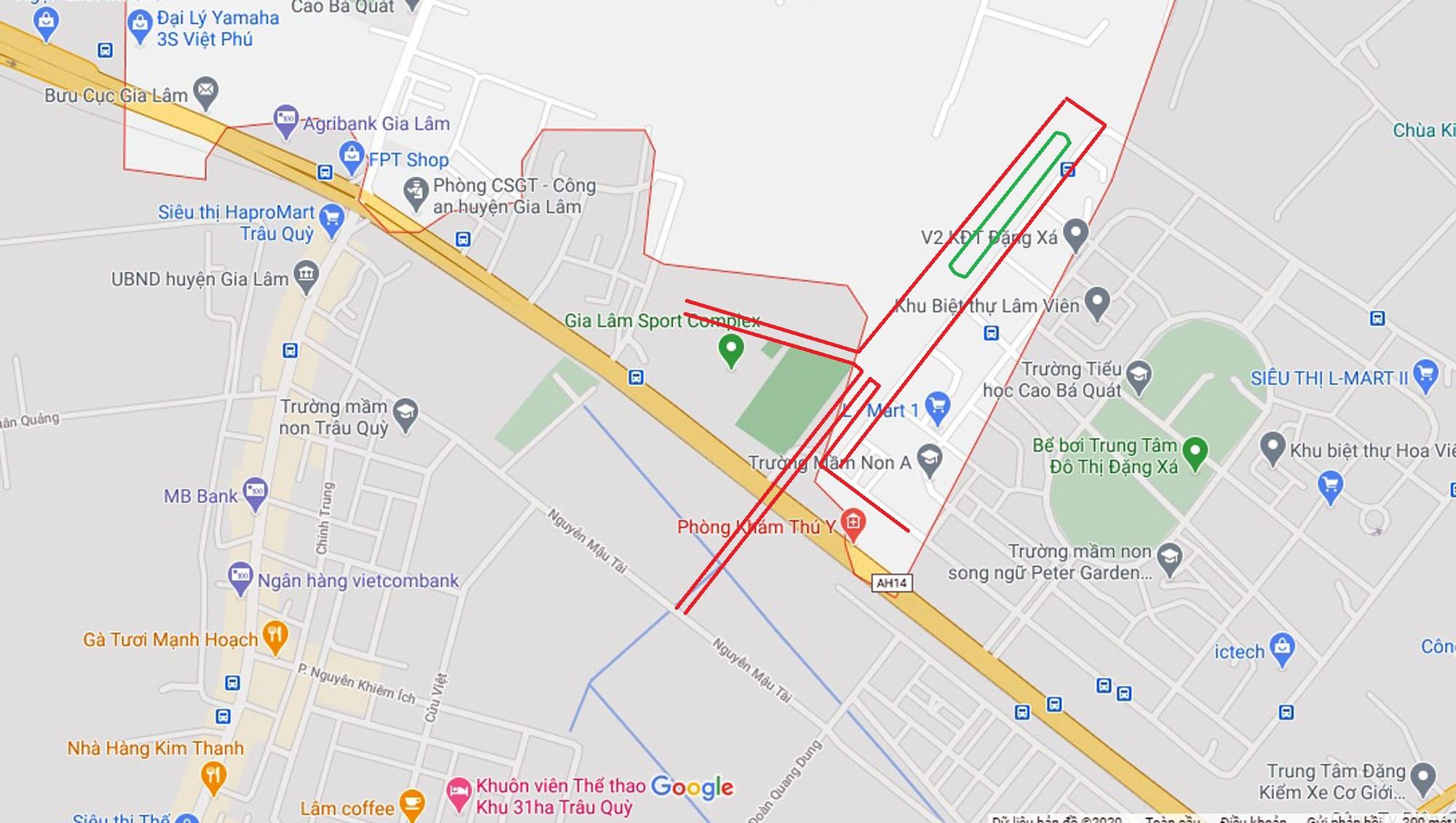 Vị trí ba đường sẽ mở theo qui hoạch ở xã Cổ Bi, Gia Lâm, Hà Nội - Ảnh 10.