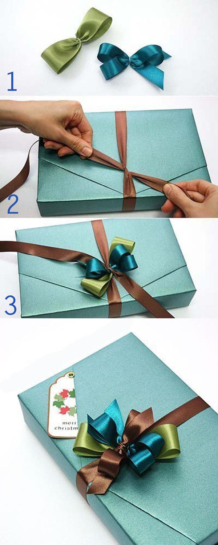 Gợi ý những cách thắt nơ hộp quà đơn giản mà đẹp dành tặng những người thân yêu - Ảnh 11.