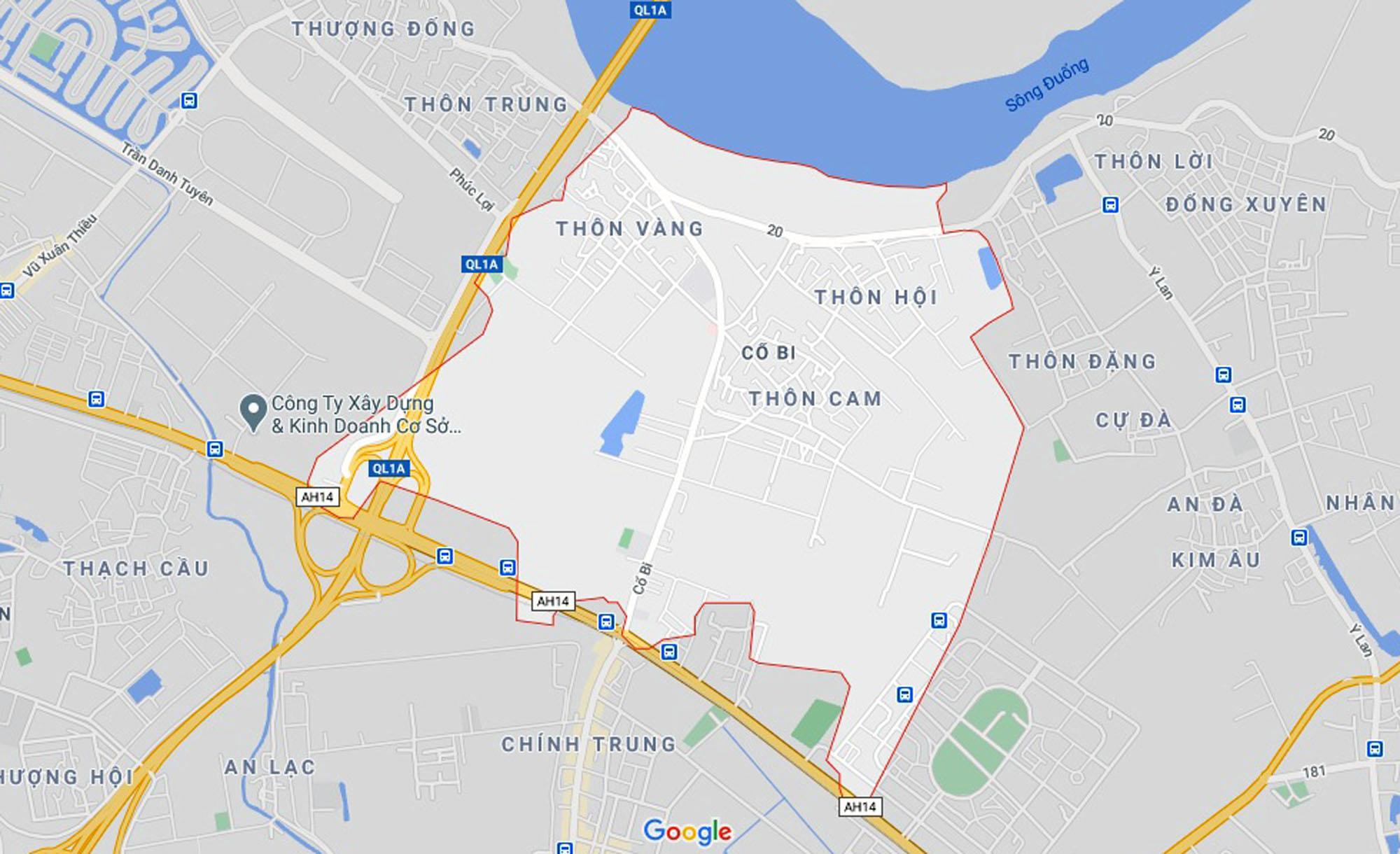 Vị trí ba đường sẽ mở theo qui hoạch ở xã Cổ Bi, Gia Lâm, Hà Nội - Ảnh 1.