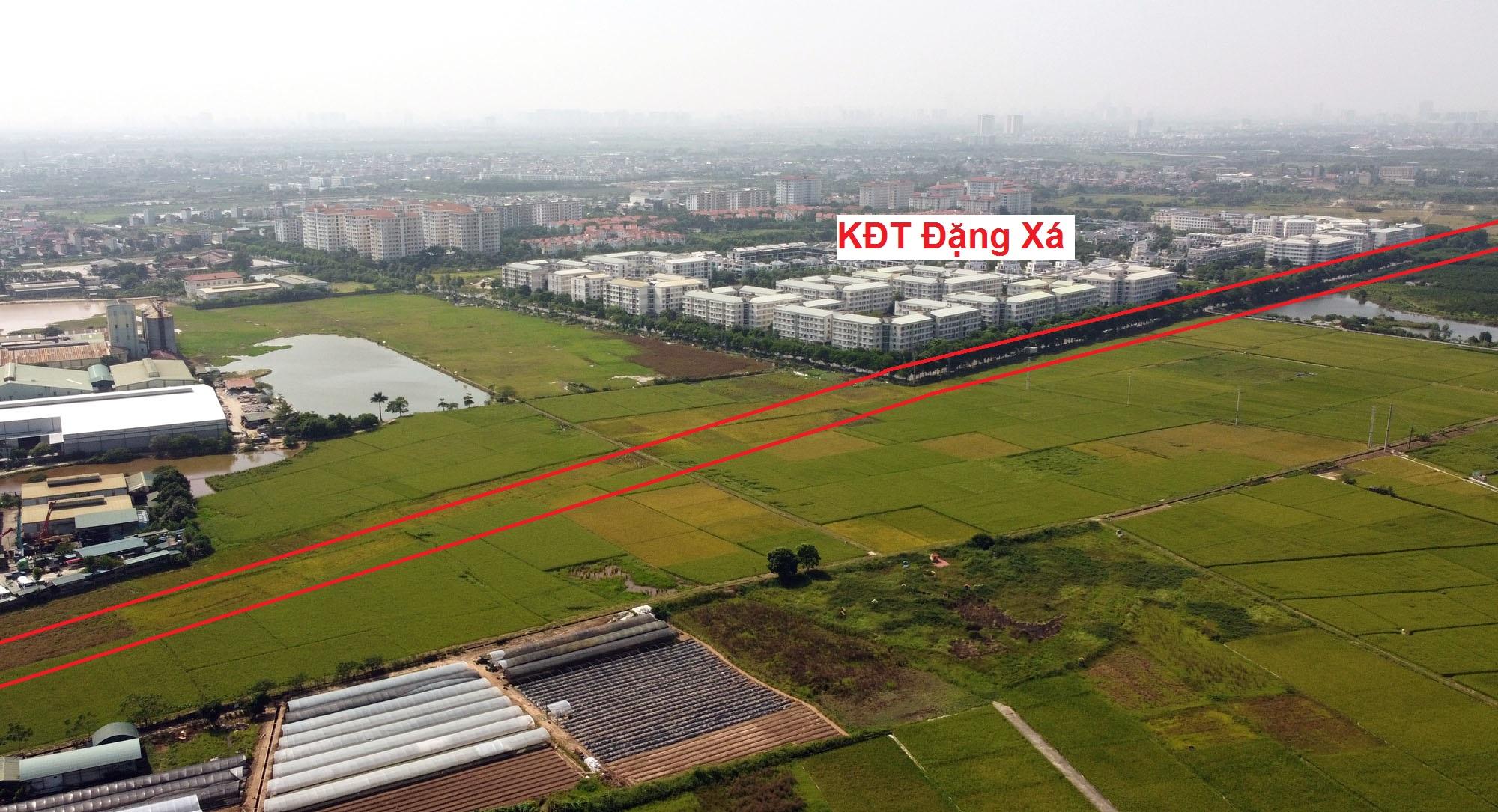 đường sẽ mở theo qui hoạch ở xã Đặng Xá, Gia Lâm, Hà Nội - Ảnh 3.