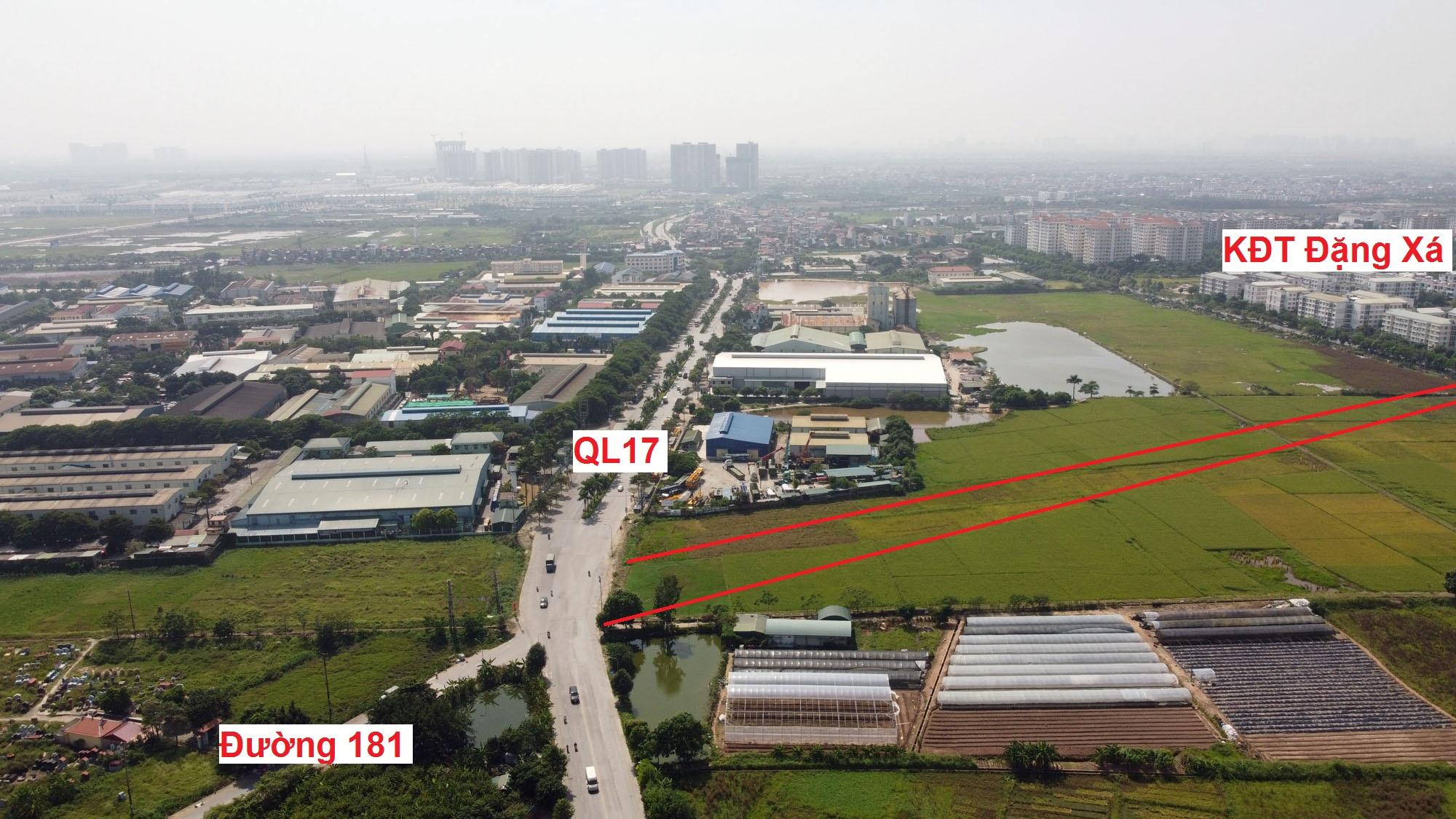 đường sẽ mở theo qui hoạch ở xã Đặng Xá, Gia Lâm, Hà Nội - Ảnh 4.