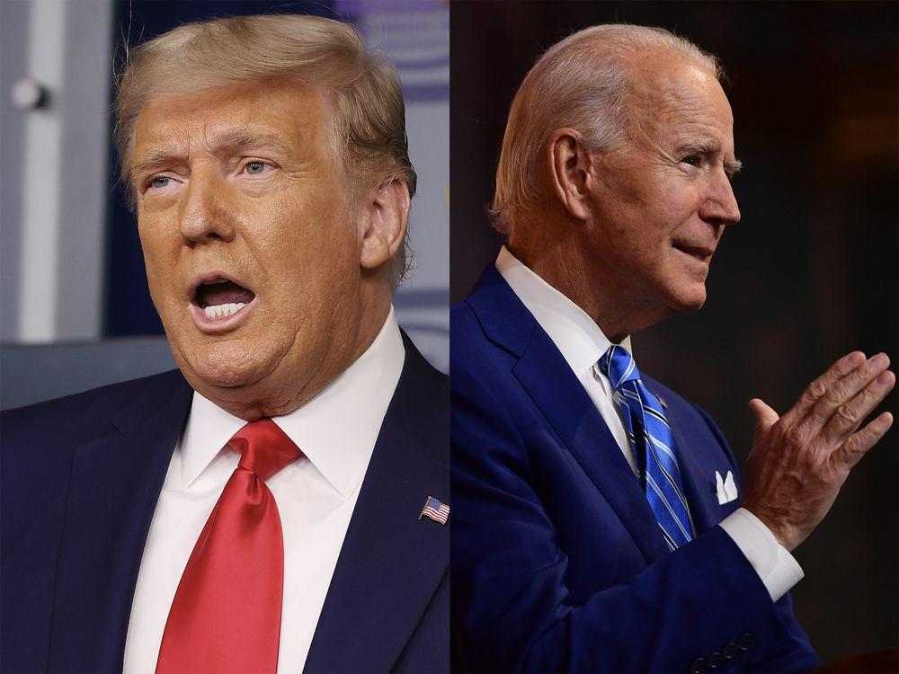 Thông điệp trái ngược của ông Trump và Biden trước thềm Lễ Tạ ơn - Ảnh 1.