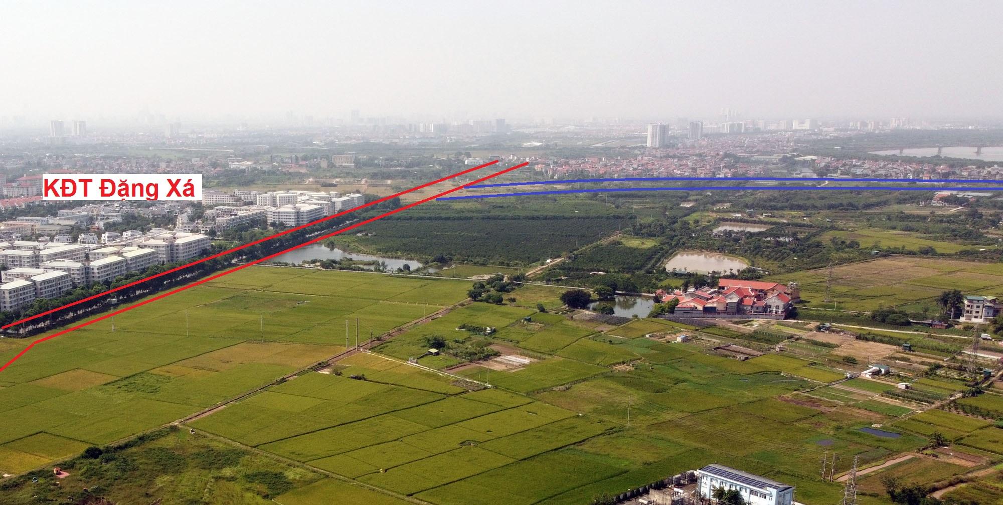 đường sẽ mở theo qui hoạch ở xã Đặng Xá, Gia Lâm, Hà Nội - Ảnh 6.