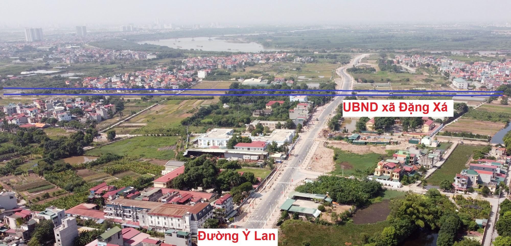 đường sẽ mở theo qui hoạch ở xã Đặng Xá, Gia Lâm, Hà Nội - Ảnh 8.