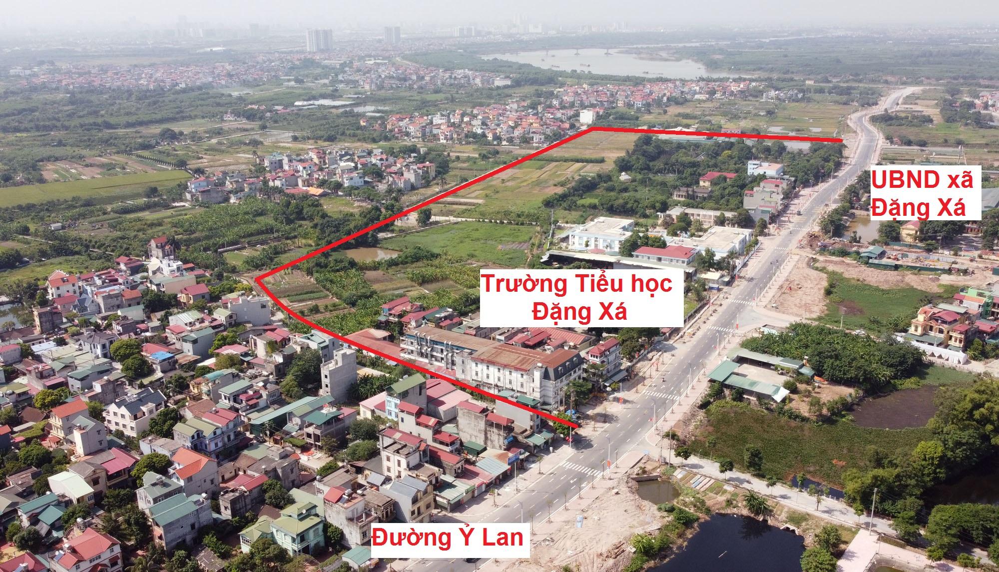 đường sẽ mở theo qui hoạch ở xã Đặng Xá, Gia Lâm, Hà Nội - Ảnh 10.