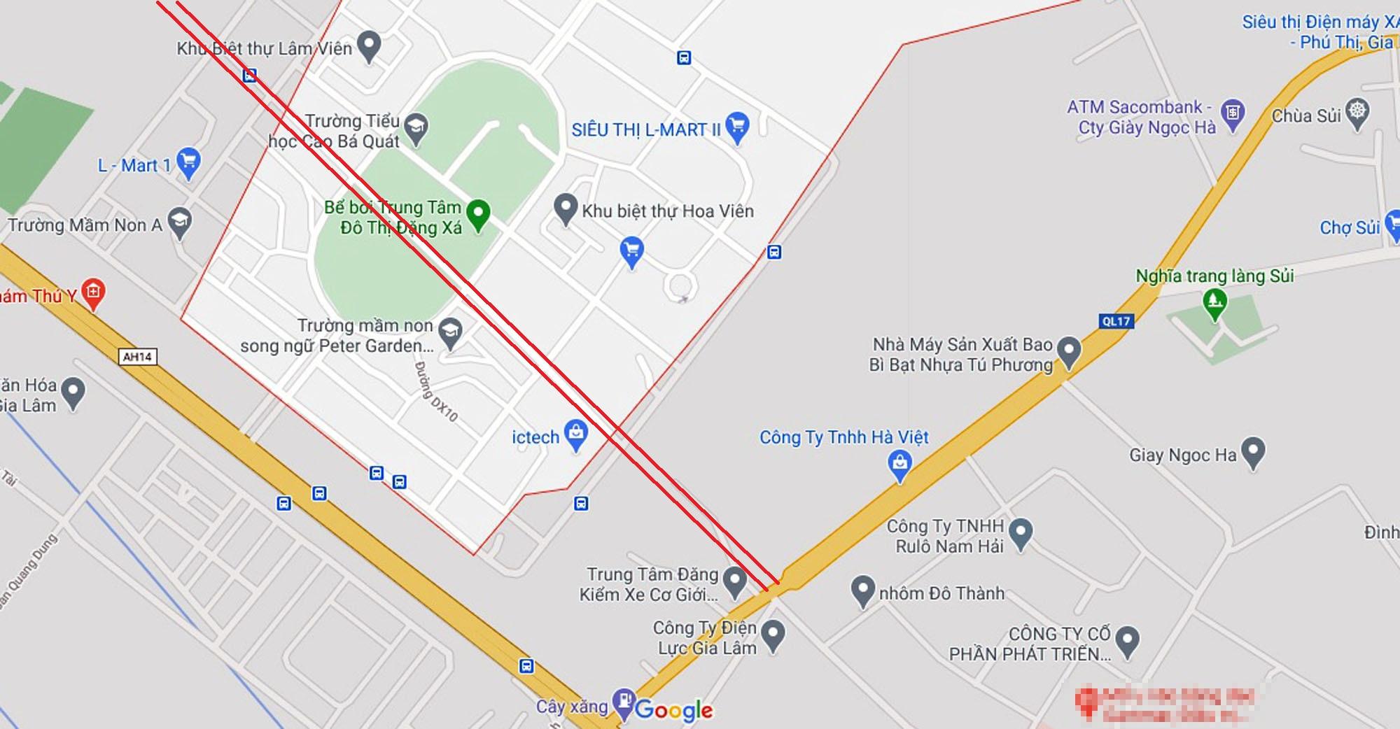 4 đường sẽ mở theo qui hoạch ở xã Đặng Xá, Gia Lâm, Hà Nội - Ảnh 11.