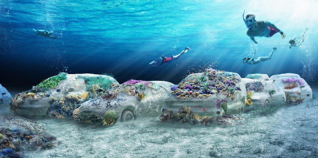 Khám phá công viên san hô điêu khắc dài hơn 11km sắp mở cửa ở vùng biển Miami - Ảnh 1.