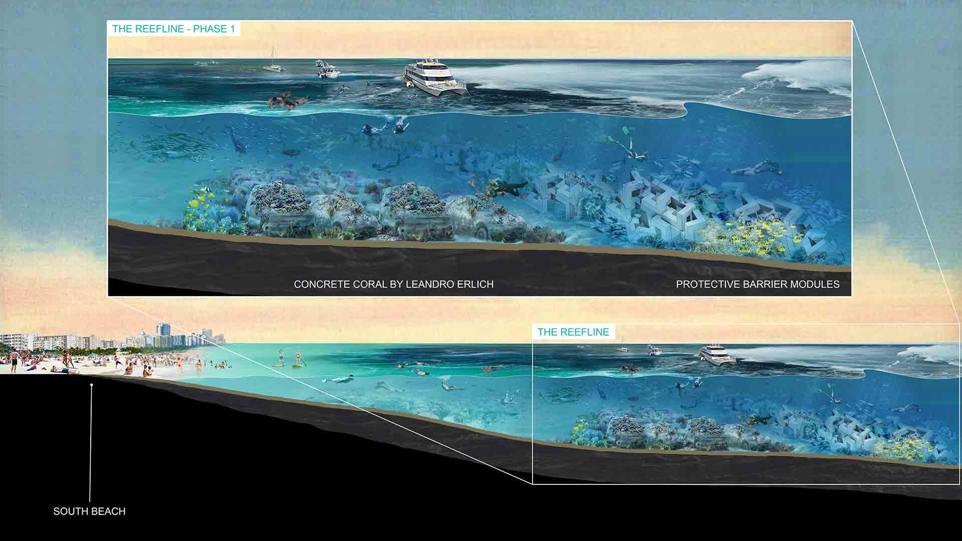 Khám phá công viên san hô điêu khắc dài hơn 11km sắp mở cửa ở vùng biển Miami - Ảnh 4.
