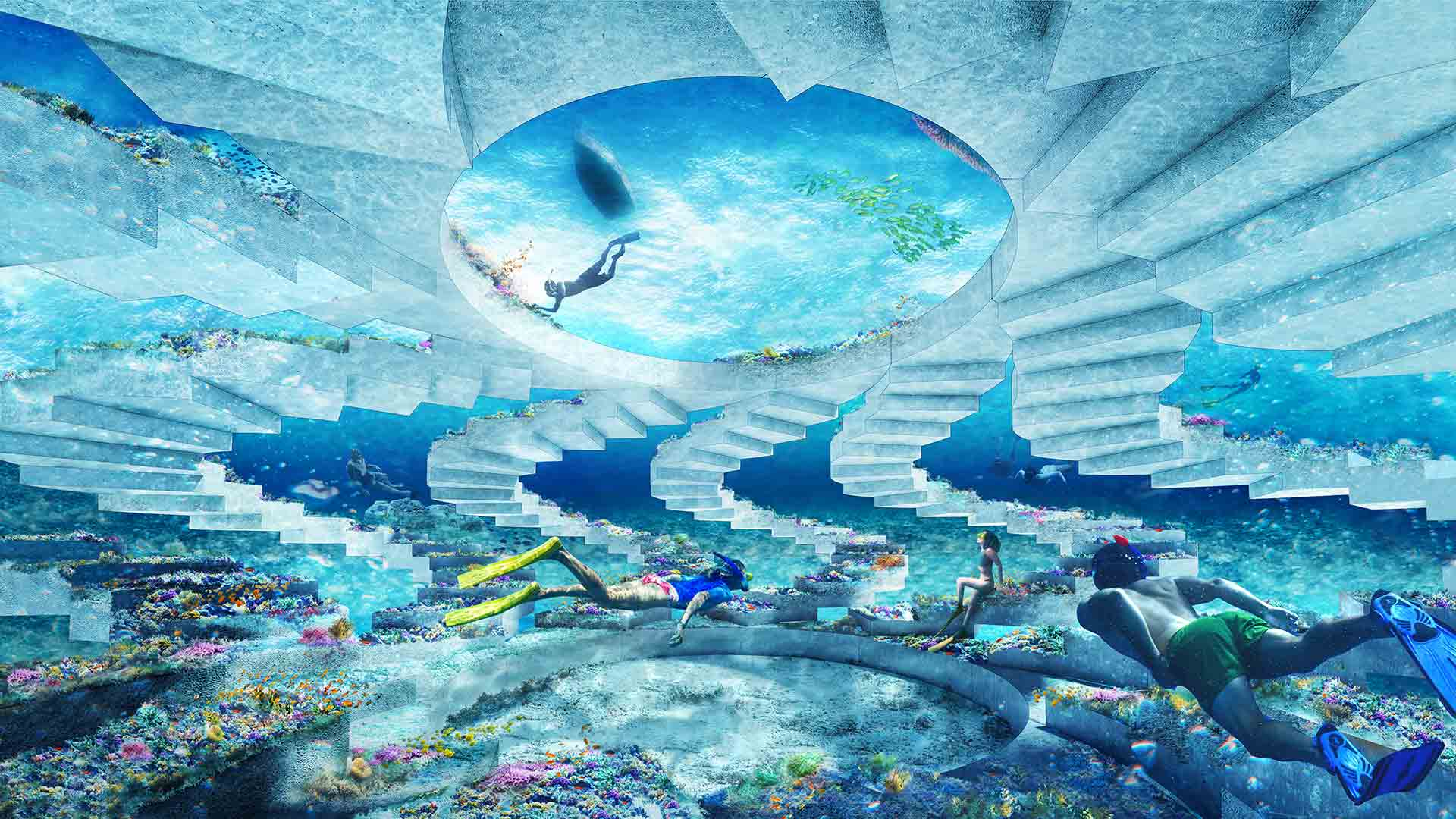 Khám phá công viên san hô điêu khắc dài hơn 11km sắp mở cửa ở vùng biển Miami - Ảnh 5.