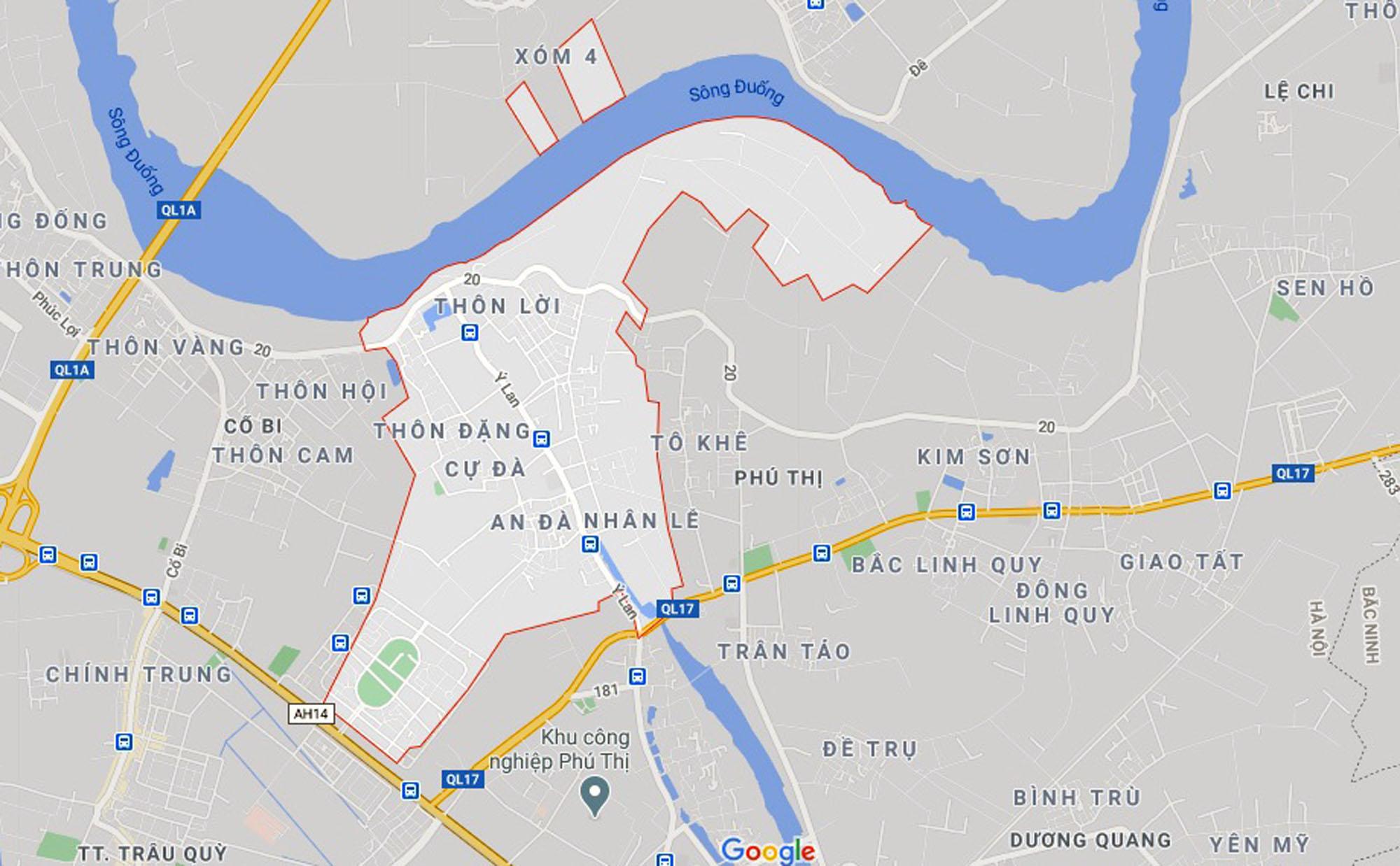 đường sẽ mở theo qui hoạch ở xã Đặng Xá, Gia Lâm, Hà Nội - Ảnh 1.
