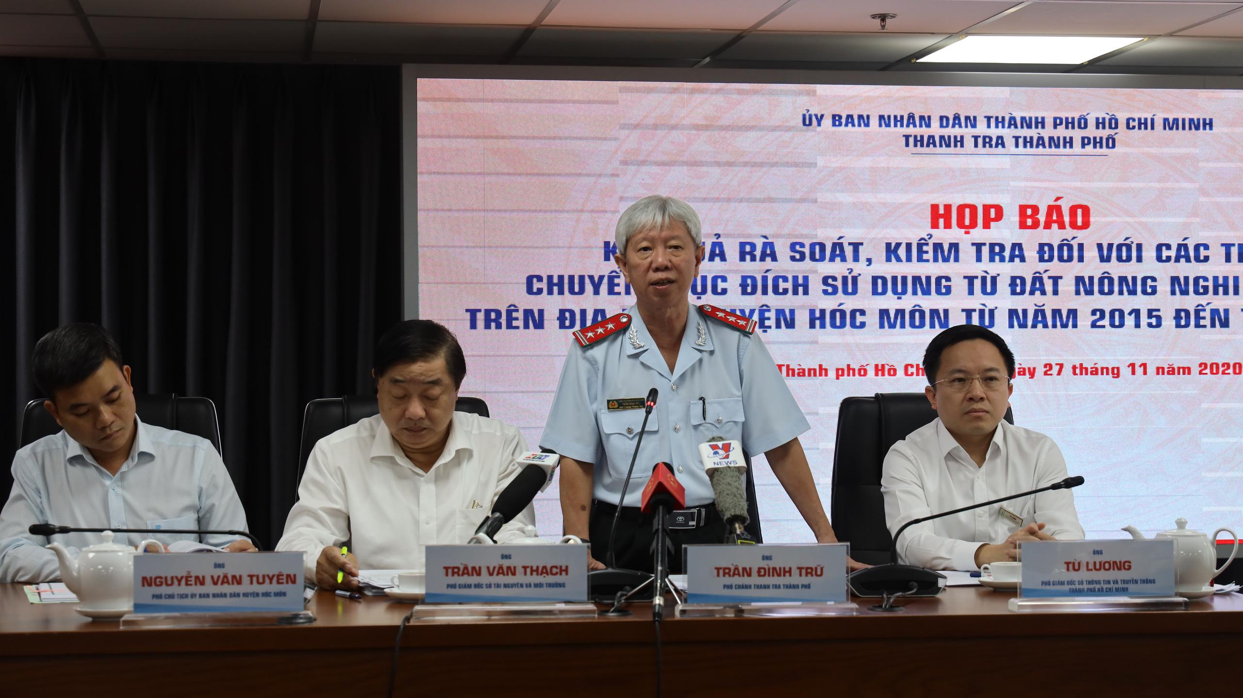 TP HCM: Kiểm điểm 58 cá nhân liên quan đến 1.386 hồ sơ sai phạm đất đai tại huyện Hóc Môn - Ảnh 1.
