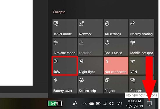 Cách chỉnh độ sáng màn hình máy tính mà không cần dùng phần mềm - Ảnh 3.